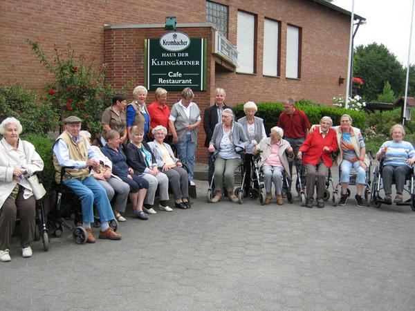 Einblick Besuch Kleingartenverein Waltrop