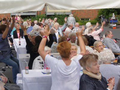 Einblicke in den Hirschkamp - Feste feiern