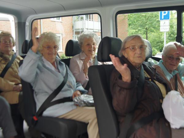 Einblicke im Hirschkamp - Bustour